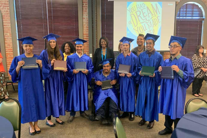 Photo of the 2019 graduates of Project SEARCH.