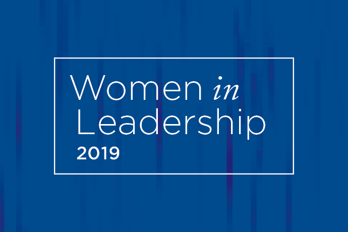 Logo of 2019 Women in Leadership event