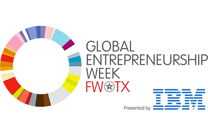 Logo for Fort Worth Global Entrepreneurship Week