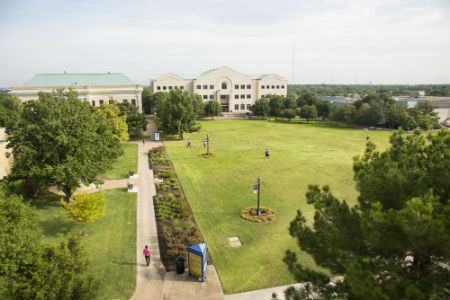 Texas Wesleyan University campus image.