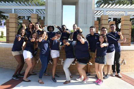 Our Golden Ram Tour Guides are ready to show you the campus
