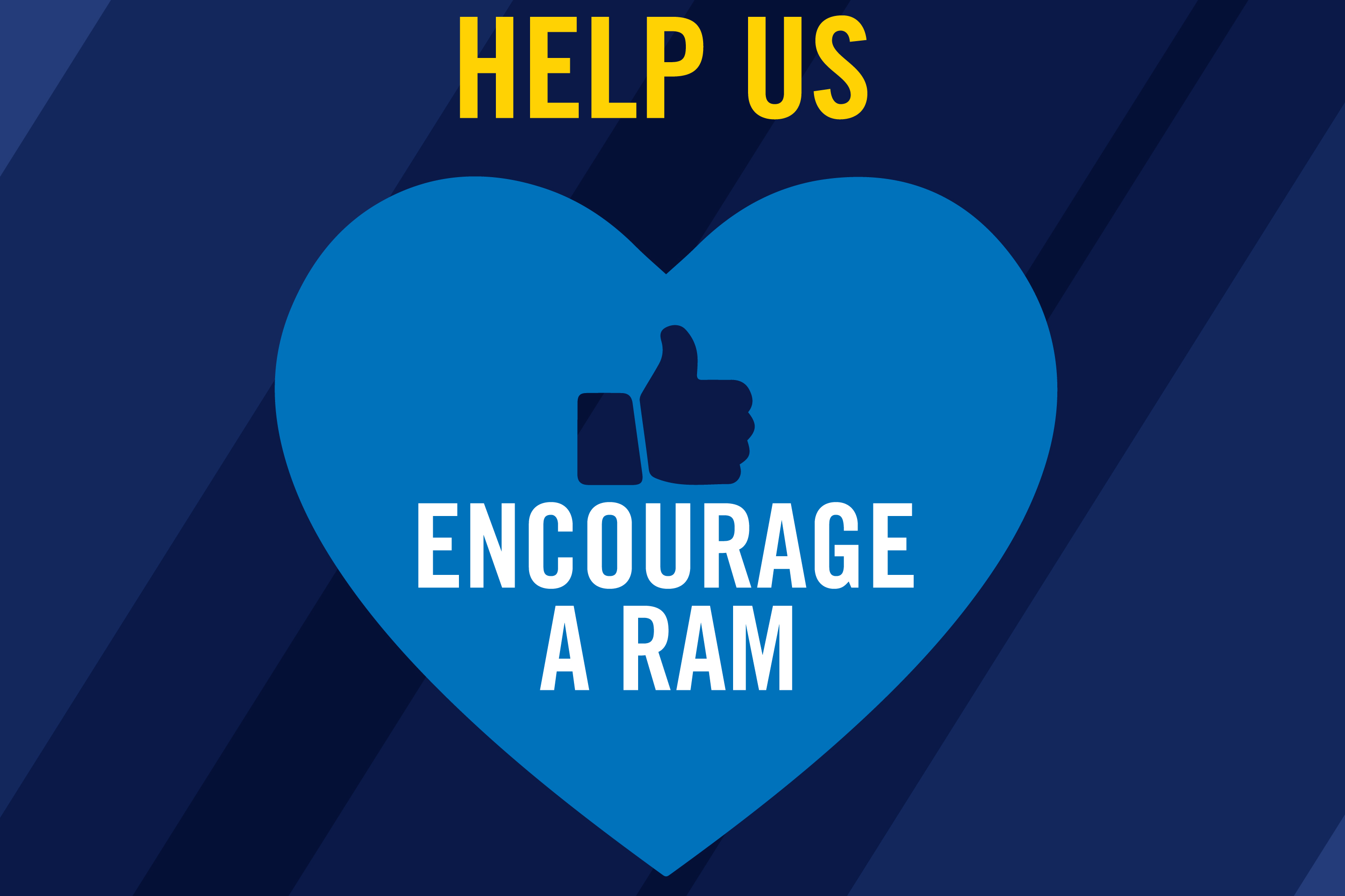 Help Us Encourage a Ram