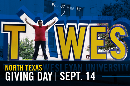 Eric Montoya is an alumni of Texas Wesleyan's School of Education