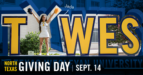 Jada High is a student at Texas Wesleyan University