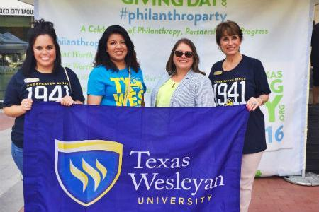 North Texas Giving Day and Texas Wesleyan