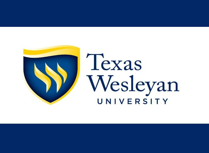 The Texas Wesleyan University logo.