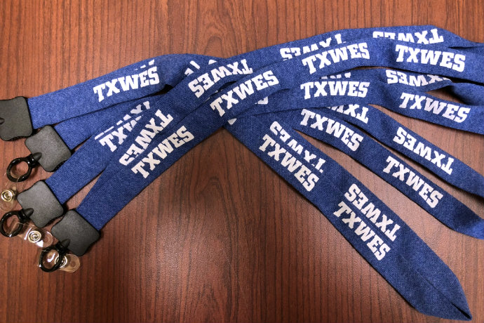lanyard, teacher, football, giveaway