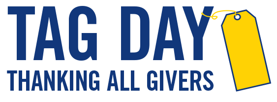 TAG Day to thank all givers and donors.