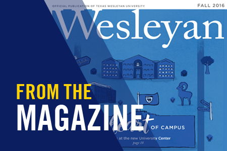 News series called From the Magazine featuring articles from the Wesleyan Magazine
