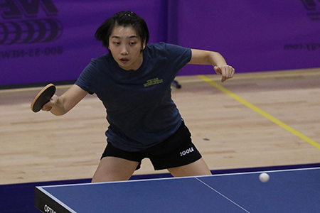 Texas Wesleyan Table Tennis, Yue Wu
