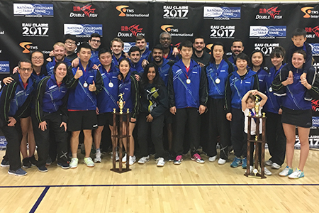 2017 College Table Tennis National Champions