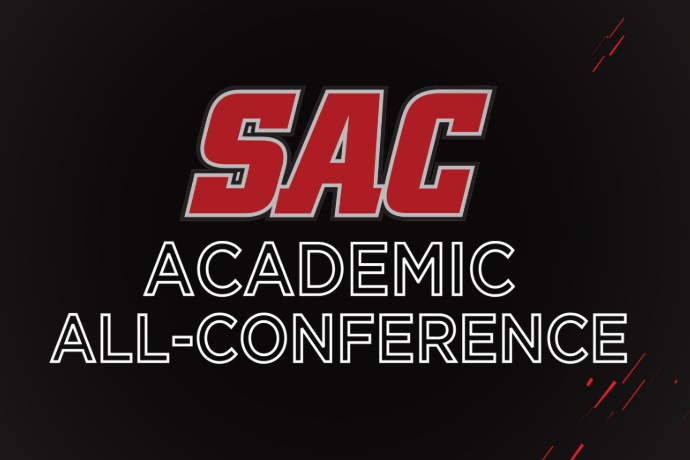 SAC Academic All-Conference graphic
