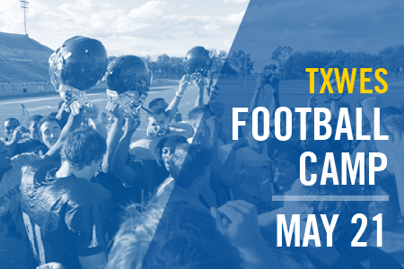 Texas Wesleyan football is hosting a football camp for all high school players class of 2017 through 2020
