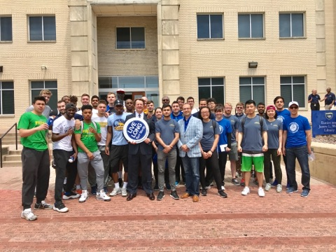 Blue Zones Student Movement Group Photo