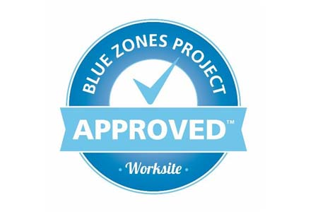Blue Zones Approved Worksite logo