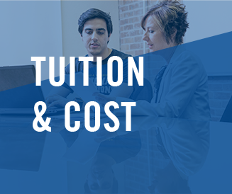 Image that says Tuition & Cost