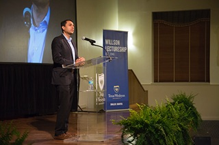 Eboo Patel, Ph.D., founder and president of Interfaith Youth Core, was the feature speaker at Texas Wesleyan's 2017 Willson Lectureship. His full presentation is now available online – ready to watch and share with students, colleagues and friends.