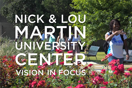 Texas Wesleyan University is unveiling plans for its $20.25 million Nick and Lou Martin University Center, which will be located in the heart of campus.