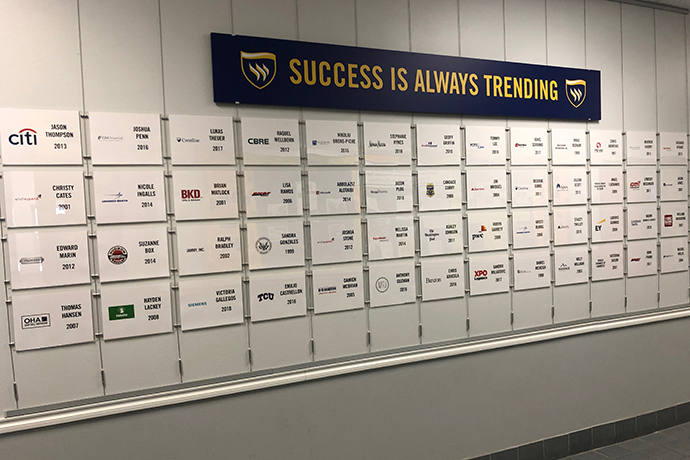 At Texas Wesleyan University, success is always trending. 