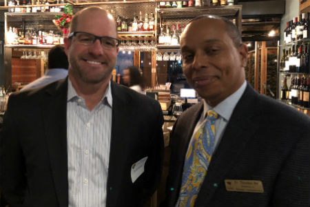 Texas Wesleyan's new online MBA program, which is designed for working adults and can be completed as little as year, hosted a holiday meet and greet at Fixture Kitchen and Social Lounge on Dec. 13.