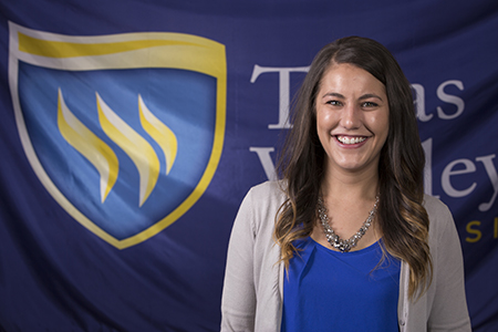 Kati Spurrier Texas Wesleyan's admission marketing specialist