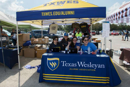 Texas Wesleyan has plenty of fun planned for students and alumni during homecoming week. TXWES student organizations have already