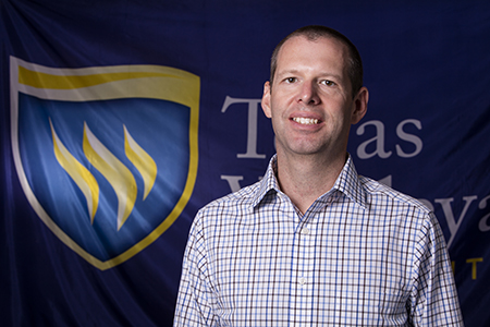 Jimmy Gresham is the new director of facilities at Texas Wesleyan University