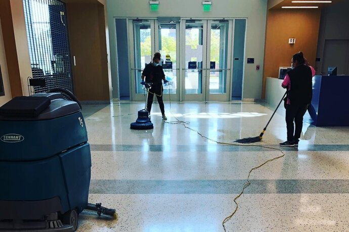 Service First cleaning Martin Center