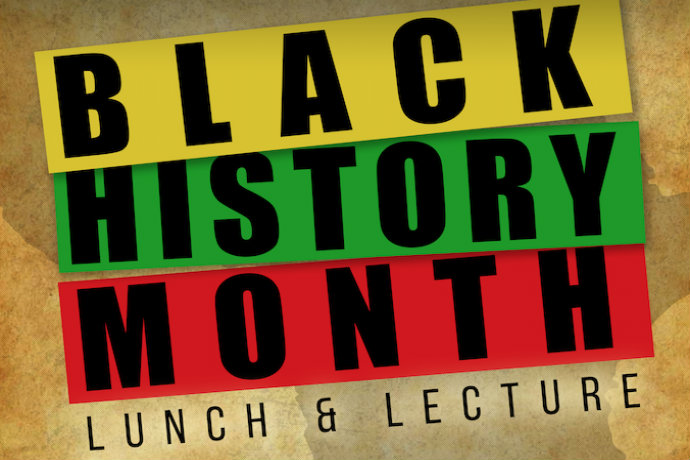 Black History Month Lunch and Lecture Feb 22 welcomes guest speaker, Dale Long.