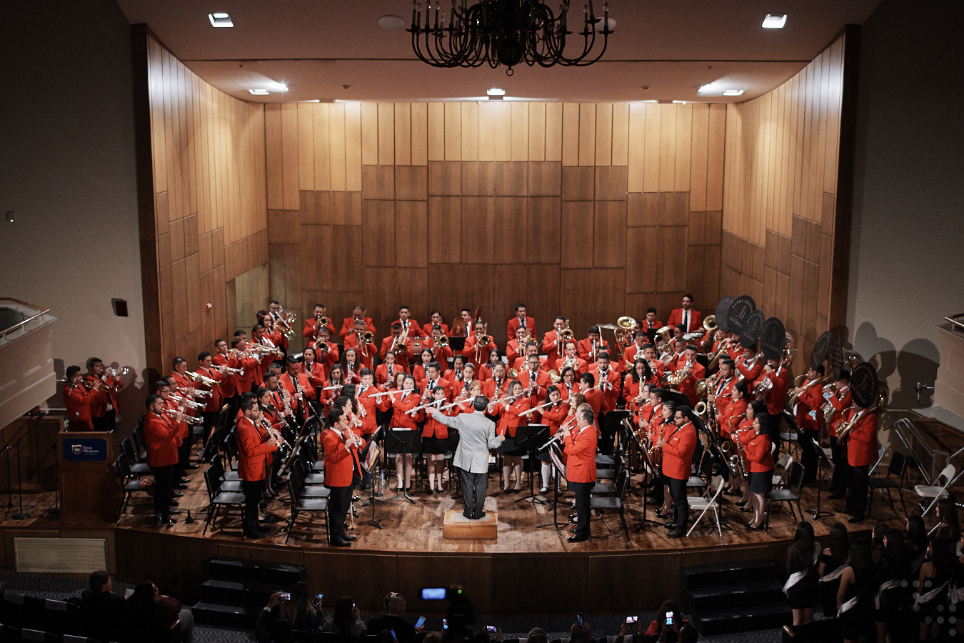 Banda Sinfonica de Zacatecas performance on Jan. 18 was a huge success!