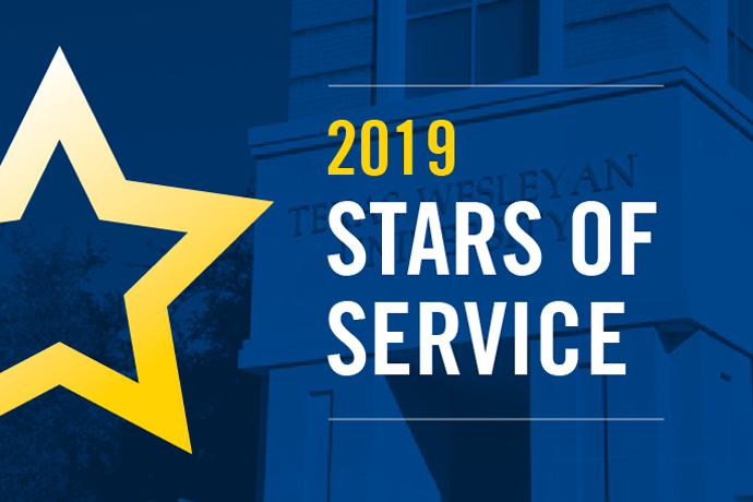 2019 Stars of Service Awards is an annual event to recognize employees with 5 or more years of service.