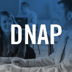 Thumbnail image of a male teacher talking to a student with DNAP in white text