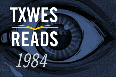 TxWes Reads logo with eye