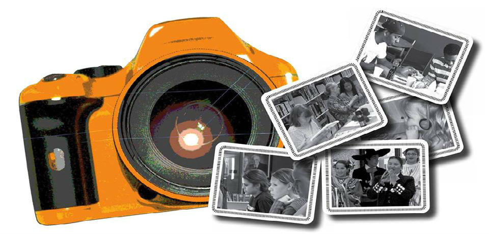 camera with photos