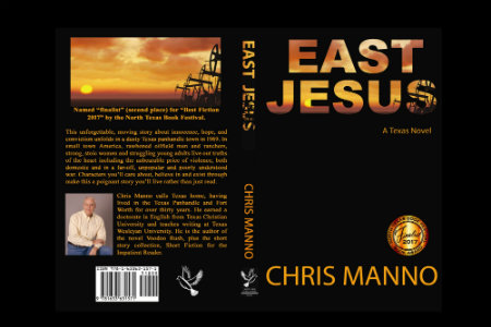 A novel written by Chris Manno, English Adjunct. This won an award for
