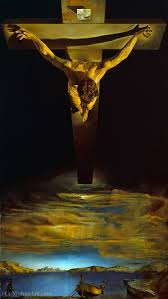 Painting of Dali's Christ St. John of the Cross