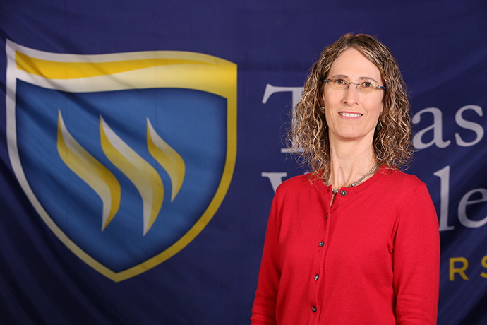 Department Chair of Religion, Dr. Kendra Weddle, bio picture