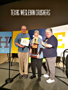 The 4th consecutive spelling bee champs for the Tarrant Area Literacy Coalition's Spelling Bee.