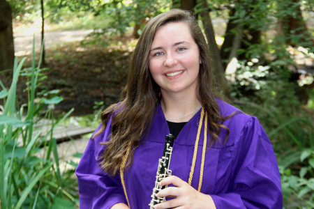Jamie Ford, winner of the 2017 Clara Freshour Nelson Music Scholarship Award