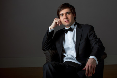 Portrait of Vadym Kholodenko for Flame