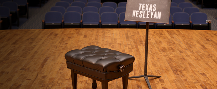 Get your degree in Music from Texas Wesleyan University