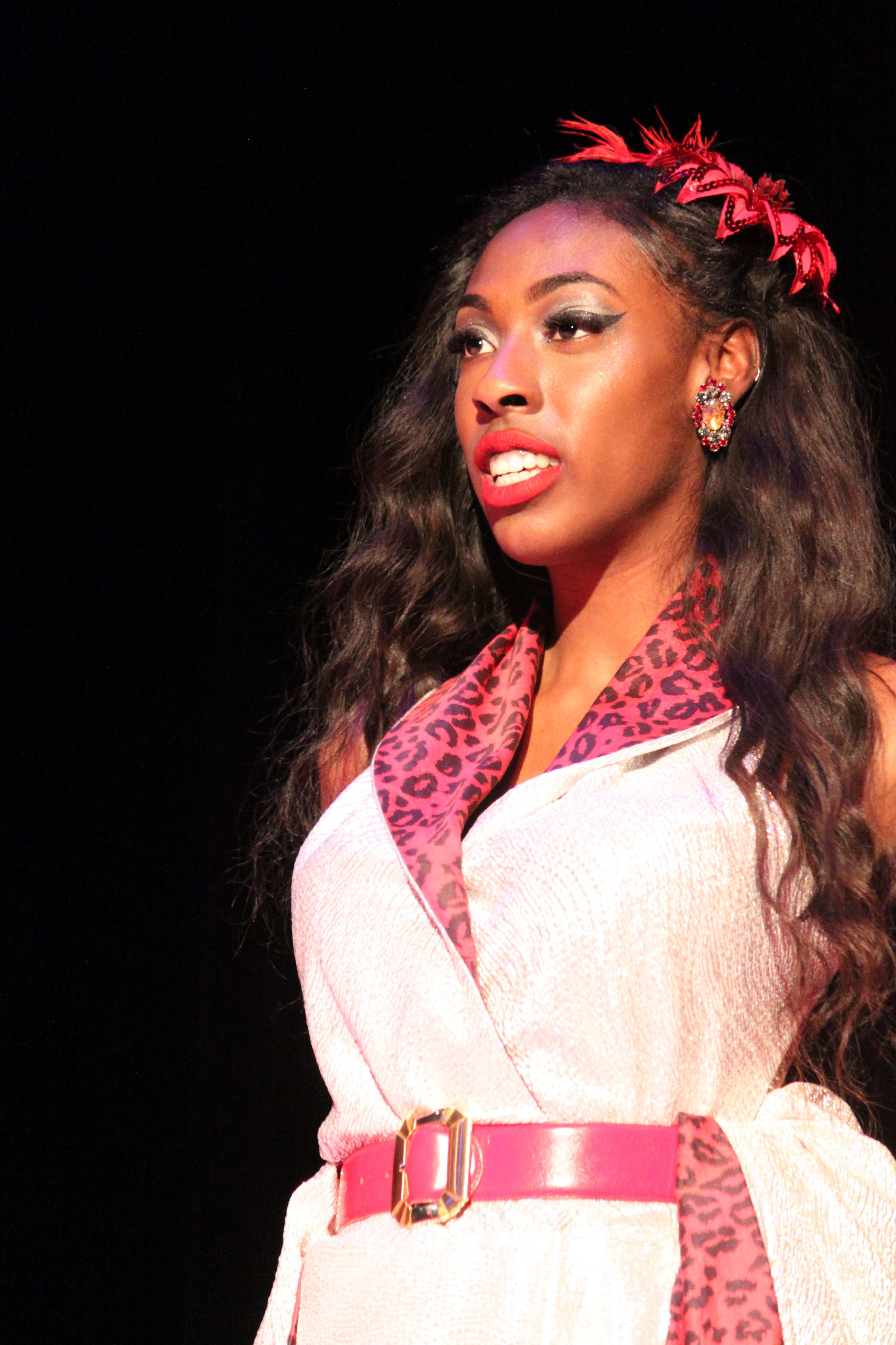 Photo fo Akira Owens in Clue The Musical production