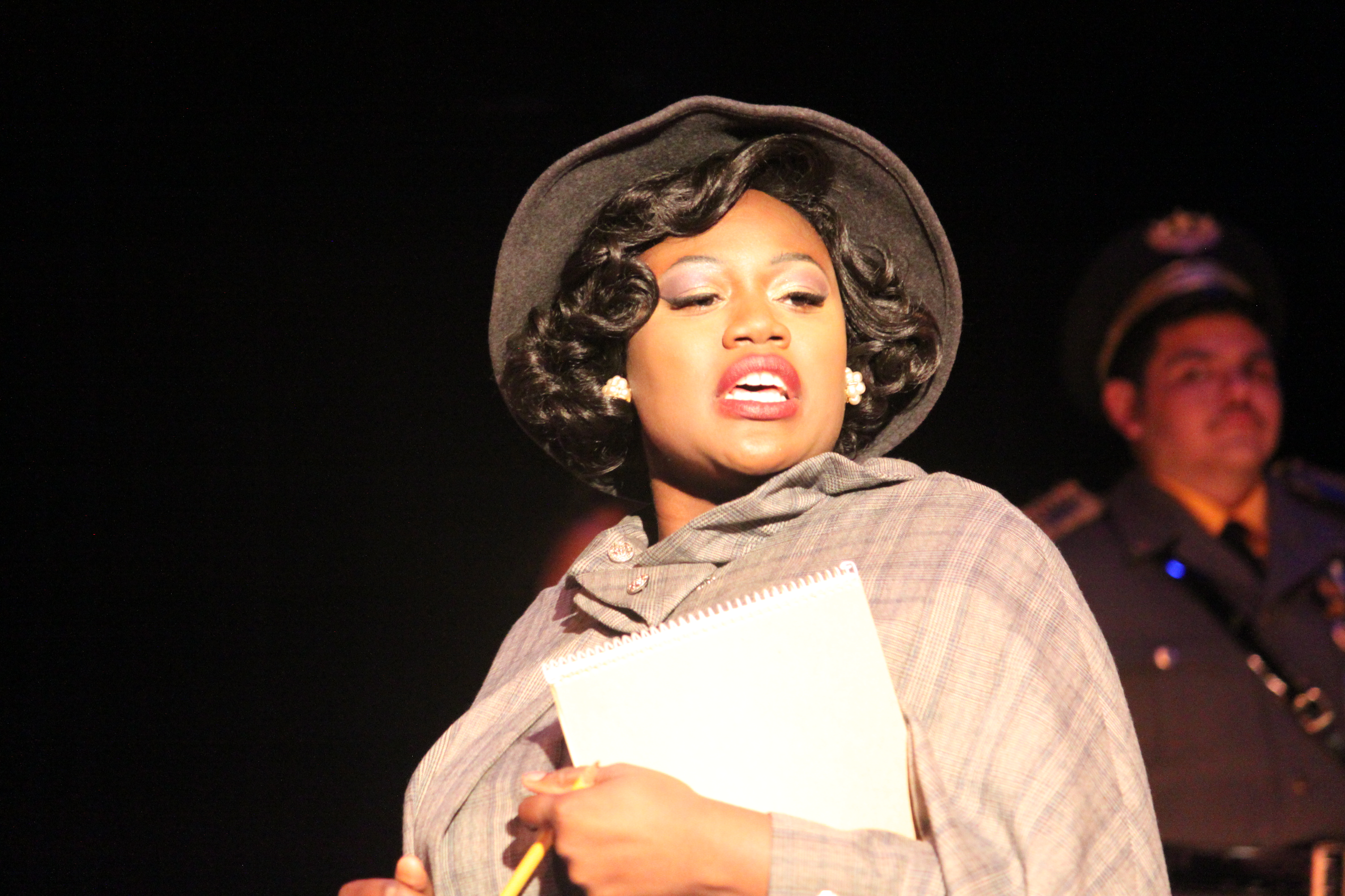 Photo of Deja Chase in Clue The Musical production