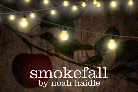 Artwork for Theatre Wesleyan's Smokefall