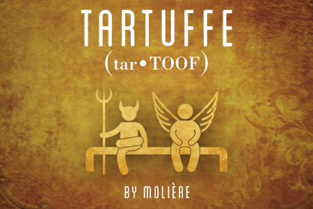 Artwork for Theatre Wesleyan's Tartuffe
