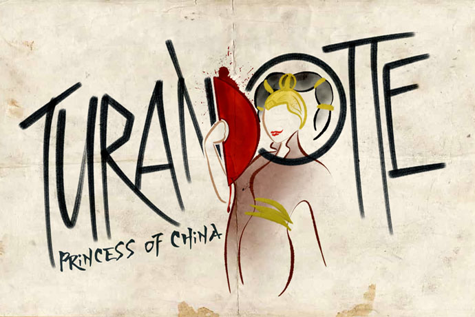 Logo for Turandotte: Princess of China