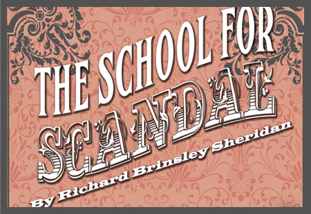Header for School for Scandal