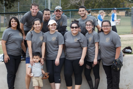 Accounting Society participates in Annual CPA Softball Tournament