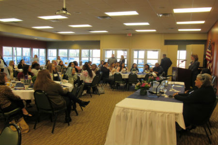 Room view of Women in Leadership Attendees