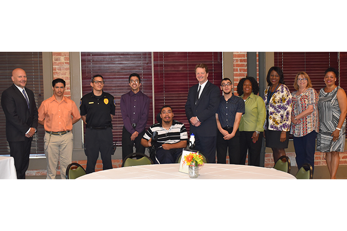 Photo from the 2019 Project SEARCH supervisors luncheon held May 16 at the Baker Building.